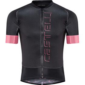 Castelli Climber's 2.0 Maglietta jersey con zip frontale Uomo, light black